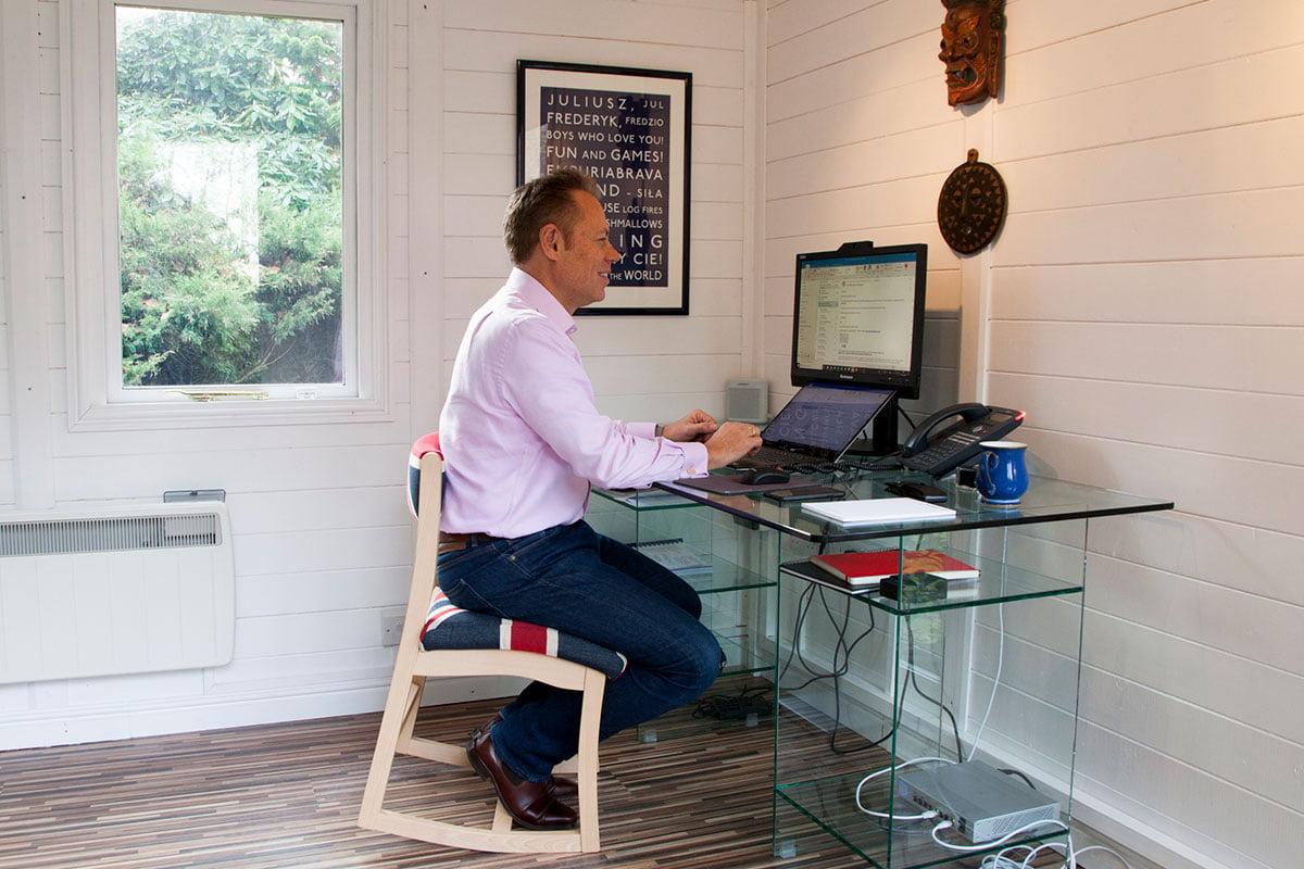 RockBack home office